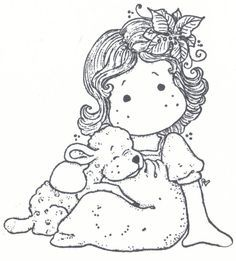 Tilda with a cute lamb magnolia - Sök på Google