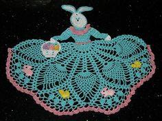 Easter Bunny Girl Crochet