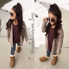 Children and Young Outfits Niños, Girls Fall Outfits, Sunday Outfits, Little Girl Outfits, Cute Girl Outfits, Cute Outfits For Kids, Little Girl Fashion, Toddler Girl Outfits, Toddler Fashion