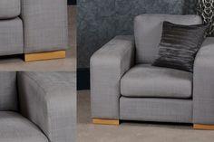 Delcor's Prezzo Chair in grey