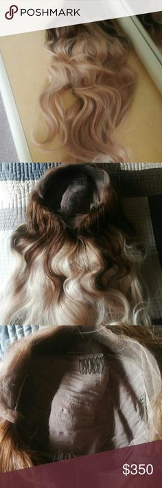 Front Lace Remy  Wig 20 inch wave This is a brand new unit.. However  I cut the lace and that is it ..it is supposed to a small cap but to me fits like a large my opion thou..if you have any ? Just ask thank you... Other