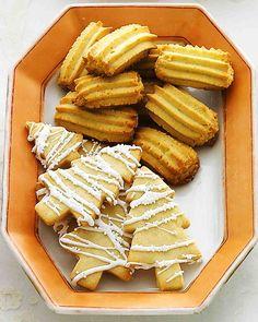 Christmas Cookie Recipes: Orange Spritz Cookies