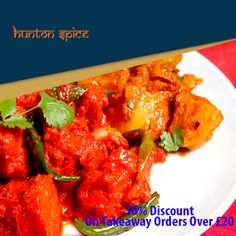 Hunton Spice offers delicious Indian Food in Kings Langley, Watford Browse takeaway menu and place your order with ChefOnline. Indian Food Recipes, Ethnic Recipes, Food Online, Watford, Gloucester, Food Items, Opportunity, Spices