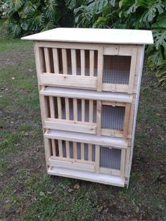 Quail cages More
