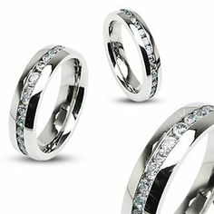 Flame Design University of California Berkeley Rings Stainless Steel 8MM Wide Ring Band