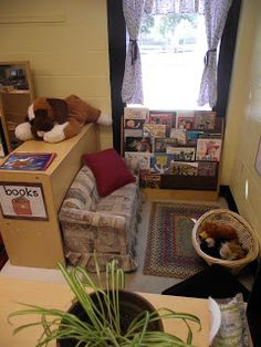 comfy just right size couch for the kids in a small corner of the room- great…
