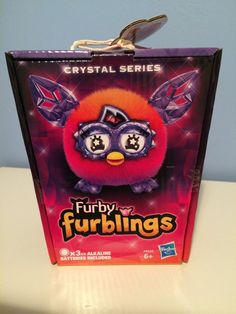 Furby Furblings Crystal Series Orange/Pink, Furby Boom Xmas Stocking Filler BNIB #Hasbro