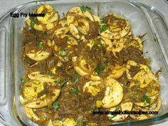 Indian Recipes - Egg Masala - Mutta Fry Masala