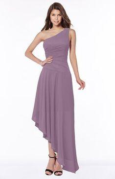 1899fb5f0f ColsBM Grace - Lake Blue Bridesmaid Dresses. ColsBM Maggie Valerian Luxury  A-line Zip up Chiffon Floor Length Ruching Bridesmaid Dresses