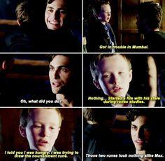 Max and Alec #Shadowhunters #1x06
