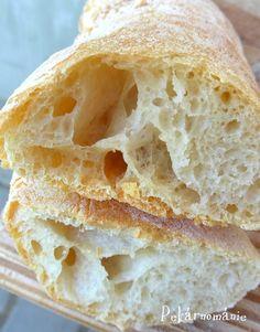 Ciabatta Ciabatta, Cornbread, Bread Recipes, Food, Millet Bread, Essen, Bakery Recipes, Meals, Eten