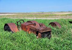Case tractor long forgotten.