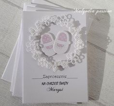 New Baby Cards, Cute Cards, Communion, Christening, New Baby Products, Diy And Crafts, Mixed Media, Invitations, Frame