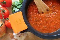 Salsa de tomate al estilo italiano. Receta casera