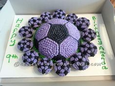 I did this soccer ball cake for a friend's daughter's birthday party. It was perfect for her since she loves soccer and she loved it! I used the Wil...