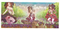colour (digital + watercolor ) : mariacristina federico pencil : vincenzo cucca