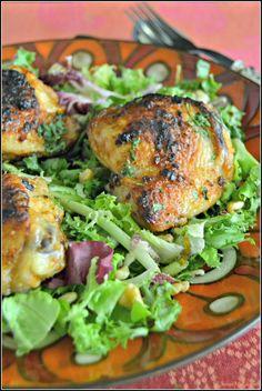 Sweet my Kitchen: Frango no forno com especiarias