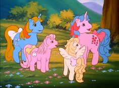 cartoons aesthetic A Little Piece of Magic Original My Little Pony, Vintage My Little Pony, Old Cartoons, Animated Cartoons, Cartoon Pics, Cute Cartoon, Little Poney, Vintage Cartoon, Photo Wall Collage