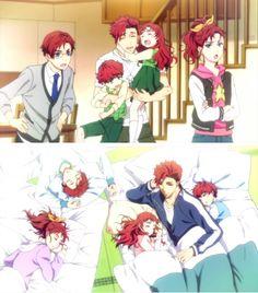 Kanato looking after his siblings