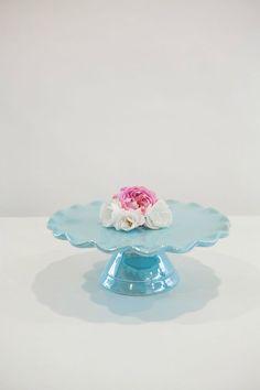 Something Blue Cake Stand