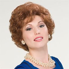 Enhance Wig - Short, curly and easy. Natural freshness and sophisticated styling.