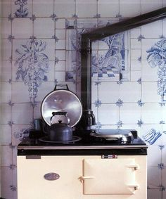 aga // blue tile