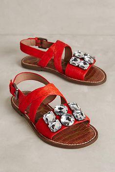 Sam Edelman Dorsey Jeweled Sandals - #anthroregistry