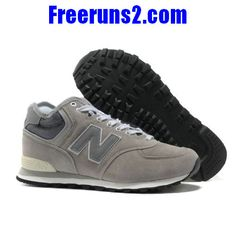 New Balance HM574GG middle-cut Suede retro Chaussures Hommes blanc Gris  Cheap New Balance, 0846673a7284