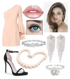 """Stark Party"" by rainbowsuperunicornchicken ❤ liked on Polyvore featuring Exclusive for Intermix, Boohoo, Lime Crime, sweet deluxe, Harry Winston and Hiho Silver"