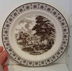 Wedgwood 25th Anniversary Wedgwood Society London Plate