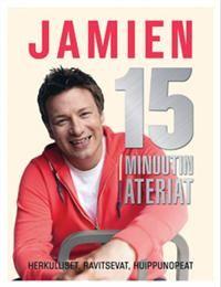 http://www.adlibris.com/fi/product.aspx?isbn=9522205613 | Titel: Jamien 15 minuutin ateriat - Författare: Jamie Oliver - ISBN: 9522205613 - Pris: 21,80