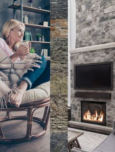 Stunning thin stone veneer to inspire any renovation. Find your perfect stone today! Stone Veneer Panels, Thin Stone Veneer, Fireplace Gallery, Manufactured Stone Veneer, Cut Above The Rest, Your Perfect, Finding Yourself, Inspire, Architecture