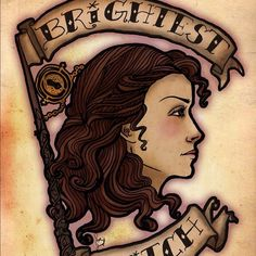 ✨Brightest Witch Art Print ✨ Hermione Granger tattoo style portrait piece I did recently! $10 is for standard 8x10 print! *PLEASE ASK ME FOR A NEW LISTING IF YOU WANT ONE*thank yew! Available in any size as well as framed or matted, pls comment what you'd like and I'll give you a price and make a listing!⛔️NO TRADES⛔️*PLEASE NOTE**✳️I do not like to negotiate in my art pieces... As they are made to order by me, featuring my original art...  I will,however, bundle 3 (8x10) prints for $24! Ty…