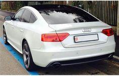 Audi a5 sportback back