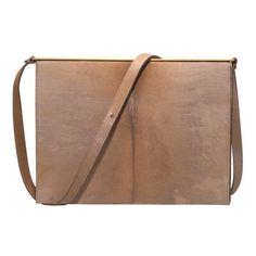 MARTIN MARGIELA Calf Hair Shoulder Bag ($1,595) ❤ liked on Polyvore featuring bags, handbags, shoulder bags, accessories, purses, women, shoulder handbags, purse shoulder bag, man shoulder bag and crossbody shoulder bags