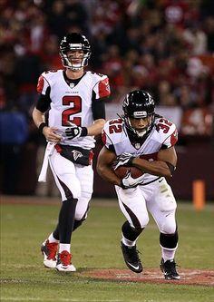 Atlanta Falcons Matt Ryan,  Jacquizz Rodgers
