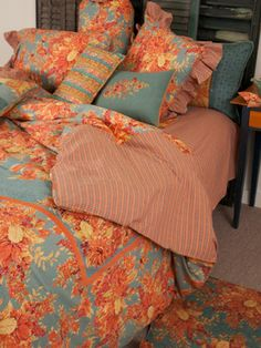 In Full Bloom Queen Duvet | Bedding, Quilts & Duvets :Beautiful Designs by April Cornell
