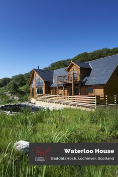 Stargazers will love this breathtakingly beautiful luxury Scottish lodge perched on the hillside of Baddidaroch - wake up to breakfast-in-bed views to die for and your own personal hot tub/jacuzzi for 6.