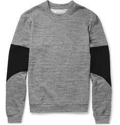 Public School Panelled Cotton French Terry Sweatshirt | MR PORTER