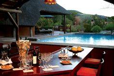 Two favorites in one! Safari & Wine @ Shamwari :-)