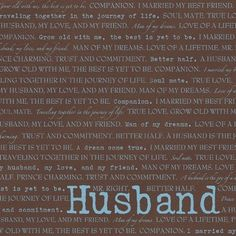 "Dinglefoot's Scrapbooking - Husband 12"" x 12"" Scrapbook Paper, $0.80 (http://www.dinglefoot.com/husband-12-x-12-scrapbook-paper/)"