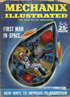 1958...Mechanix Illustrated cover