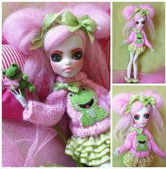 Monster High Puppe Custom Frankie Stein