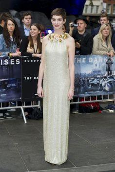 Anne Hathaway El Caballero Oscuro en Londres