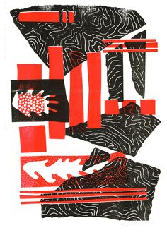 A series of 5 risographs / serigraphs inspired by the Hortus Botanicus in Amsterdam.