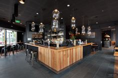 Stunning restaurant makes use of James Hardie cladding for industrial look ceiling tiles