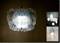 recycled plastic lamps