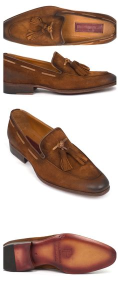 Paul Parkman tassel loafers