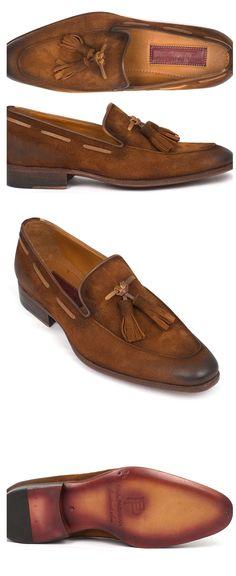 Paul Parkman tassel loafers