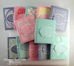Tea for Two packets - Stampin' Up!